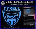 Blade Runner Decal Sticker Tyrel Corp Light Blue Vinyl 120x97