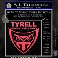 Blade Runner Decal Sticker Tyrel Corp Pink Vinyl Emblem 120x120