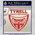 Blade Runner Decal Sticker Tyrel Corp Red Vinyl 120x120