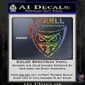 Blade Runner Decal Sticker Tyrel Corp Sparkle Glitter Vinyl Sparkle Glitter 120x120