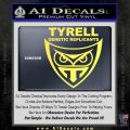 Blade Runner Decal Sticker Tyrel Corp Yellow Vinyl 120x120