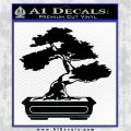 Bonsai Tree Decal Sticker D2 Black Vinyl Logo Emblem 120x120