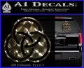 Borromean Rings Decal Sticker Trinity Celtic Logo Emblem 120x97