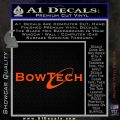 Bowtech Archery Decal Sticker New Orange Vinyl Emblem 120x120