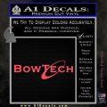 Bowtech Archery Decal Sticker New Pink Vinyl Emblem 120x120