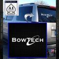 Bowtech Archery Decal Sticker New White Vinyl Emblem 120x120