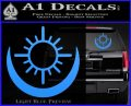 Bright Movie Decal Sticker Shield Of Light Tattoo Symbol D2 Light Blue Vinyl 120x97