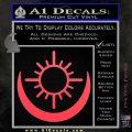 Bright Movie Decal Sticker Shield Of Light Tattoo Symbol D2 Pink Vinyl Emblem 120x120