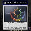 Bright Movie Decal Sticker Shield Of Light Tattoo Symbol D2 Sparkle Glitter Vinyl Sparkle Glitter 120x120