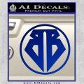 Buckaroo Banzai Decal Sticker CR1 Blue Vinyl 120x120
