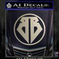 Buckaroo Banzai Decal Sticker CR1 Silver Vinyl 120x120