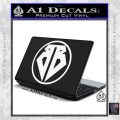 Buckaroo Banzai Decal Sticker CR1 White Vinyl Laptop 120x120