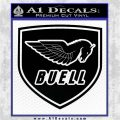Buel Motorcycles Decal Sticker D 2 Black Vinyl Logo Emblem 120x120