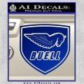 Buel Motorcycles Decal Sticker D 2 Blue Vinyl 120x120