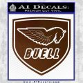 Buel Motorcycles Decal Sticker D 2 Brown Vinyl 120x120