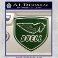 Buel Motorcycles Decal Sticker D 2 Dark Green Vinyl 120x120