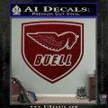 Buel Motorcycles Decal Sticker D 2 Dark Red Vinyl 120x120