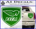 Buel Motorcycles Decal Sticker D 2 Green Vinyl 120x97
