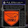 Buel Motorcycles Decal Sticker D 2 Orange Vinyl Emblem 120x120