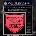 Buel Motorcycles Decal Sticker D 2 Pink Vinyl Emblem 120x120