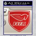 Buel Motorcycles Decal Sticker D 2 Red Vinyl 120x120