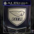 Buel Motorcycles Decal Sticker D 2 Silver Vinyl 120x120