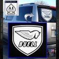 Buel Motorcycles Decal Sticker D 2 White Vinyl Emblem 120x120