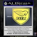 Buel Motorcycles Decal Sticker D 2 Yellow Vinyl 120x120