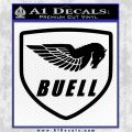 Buel Motorcycles Decal Sticker D Black Vinyl Logo Emblem 120x120