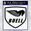 Buel Motorcycles Decal Sticker D Black Vinyl Logo Emblem 120x120