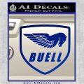 Buel Motorcycles Decal Sticker D Blue Vinyl 120x120