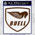 Buel Motorcycles Decal Sticker D Brown Vinyl 120x120