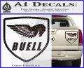 Buel Motorcycles Decal Sticker D Carbon Fiber Black 120x97