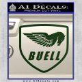 Buel Motorcycles Decal Sticker D Dark Green Vinyl 120x120