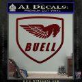 Buel Motorcycles Decal Sticker D Dark Red Vinyl 120x120