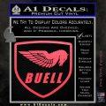 Buel Motorcycles Decal Sticker D Pink Vinyl Emblem 120x120
