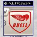 Buel Motorcycles Decal Sticker D Red Vinyl 120x120