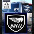 Buel Motorcycles Decal Sticker D White Vinyl Emblem 120x120