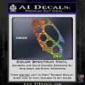 Cali Knucks Decal Sticker California Brass Knuckles Sparkle Glitter Vinyl Sparkle Glitter 120x120