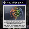 Celtic Dragon Knot Decal Sticker Sparkle Glitter Vinyl Sparkle Glitter 120x120