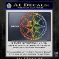 Compass Only Decal Sticker Cardinal Points Sparkle Glitter Vinyl Sparkle Glitter 120x120