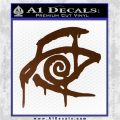 Crimson King Decal Sticker Stephen King Brown Vinyl 120x120