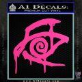 Crimson King Decal Sticker Stephen King Hot Pink Vinyl 120x120