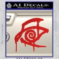 Crimson King Decal Sticker Stephen King Red Vinyl 120x120
