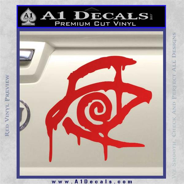 Crimson King Decal Sticker Stephen King Red Vinyl