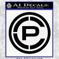 Crye Precision Logo CR Decal Sticker Black Vinyl Logo Emblem 120x120