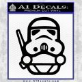 Cute Space Infantry Decal Sticker Black Vinyl Logo Emblem 120x120