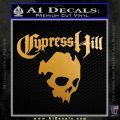 Cypress Hill Decal Sticker D2 Metallic Gold Vinyl 120x120