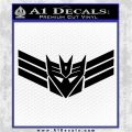 Decepticon Elite Guard Decal Sticker Transformers Black Vinyl Logo Emblem 120x120