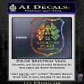 Die Hard Nakatomi Plaza Security Decal Sticker Sparkle Glitter Vinyl Sparkle Glitter 120x120